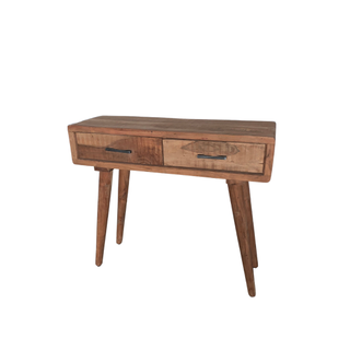wood modern side table
