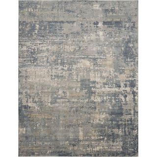 blue and gray rug