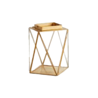 medium gold lantern