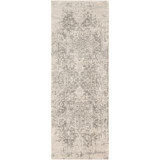 gray runner rug