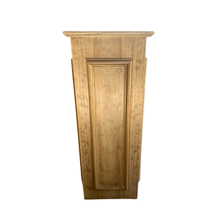 large wooden pedestal box