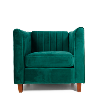 velvet jade green chair