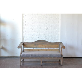 honey gray wooden sofa upholstered contemporary