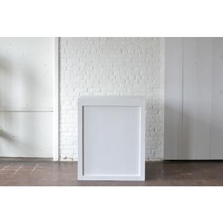 white bar column