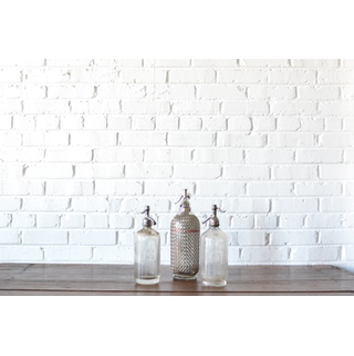Trio of Vintage Seltzer Bottles