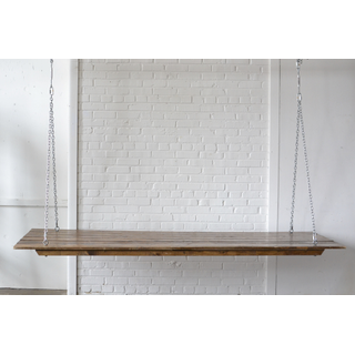 Hanging Wooden Farm Table