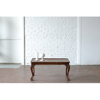 Ball and Claw wooden Coffee Table