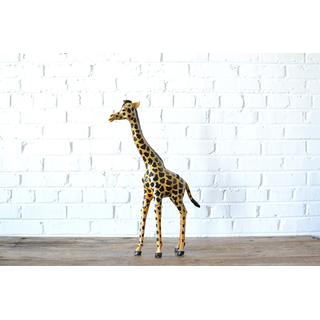 eclectic wooden giraffe