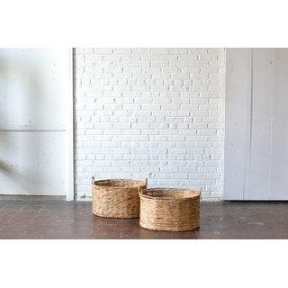 Pair of Seagrass Baskets