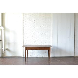 wooden farm table