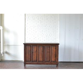 vintage wooden bar dark