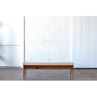 long modern wooden coffee table