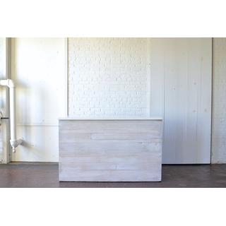 Whitewashed wooden Bar