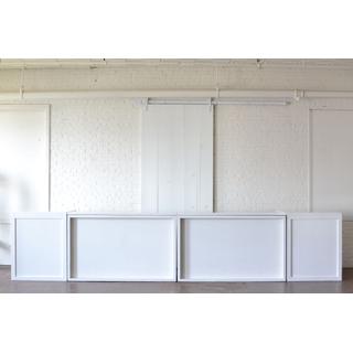 Two Column white Shadowbox Statement Bar