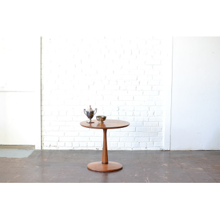 Mid-Century modern wooden end table