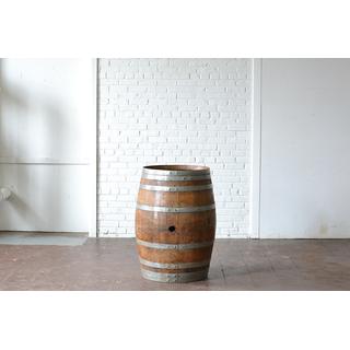 white wooden wine barrel