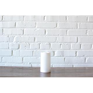 led white pillar candle