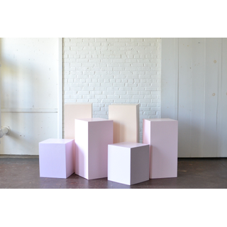 Collection of Pastel Pedestals