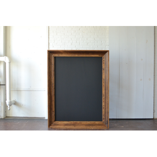 Oversized wood Frame with Chalkboard
