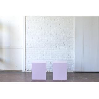 pair Lavender Pedestals