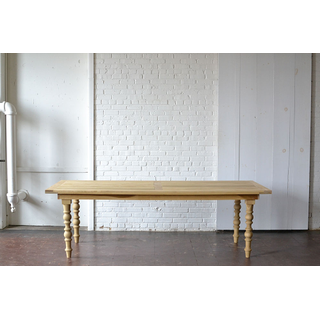 classic carved leg wooden dining table