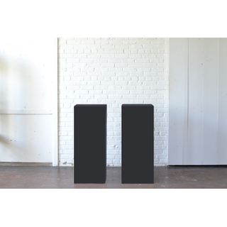 pair of Black Pedestals