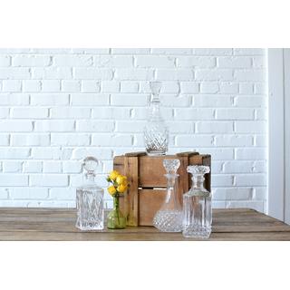 ornate glass decanter