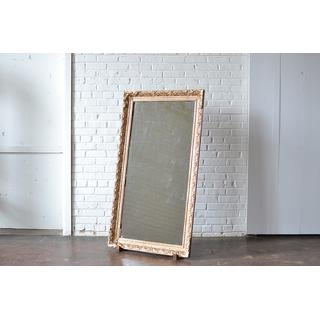 gold gilded frame mirror