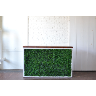 Shadowbox Bar with Hedge Wood Top