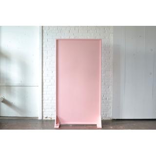 Freestanding Pink Panel