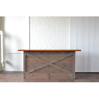 honey gray modern wooden bar