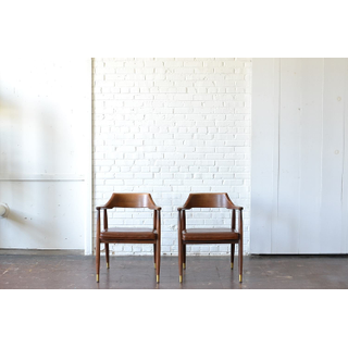 mid-centry modern wooden chairs