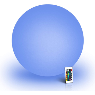 12-inch light up orb for event and party rental