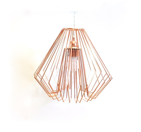 Rose Gold Modern Light Set