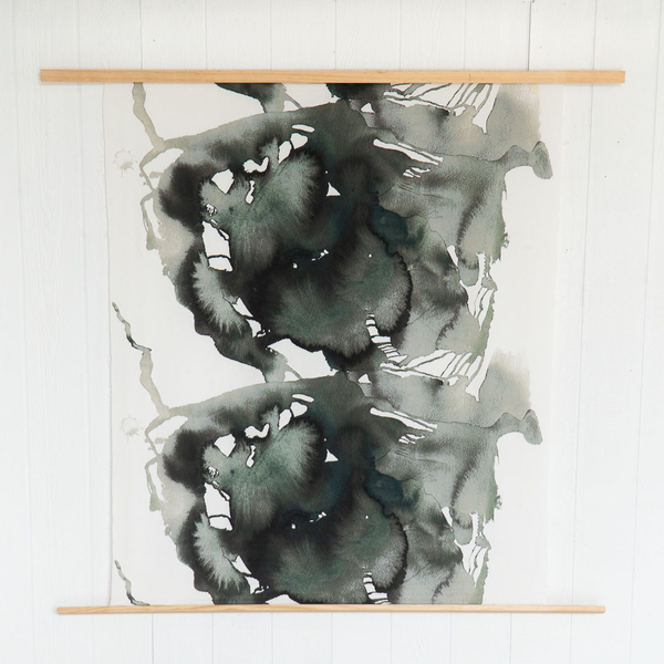 Modern Teal Canvas Backdrop