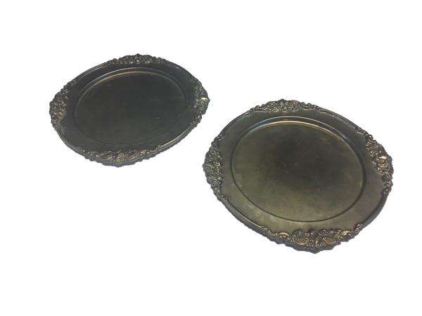 Brass Plate Set