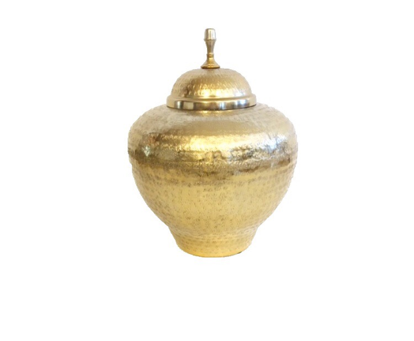 Large Gold Jar