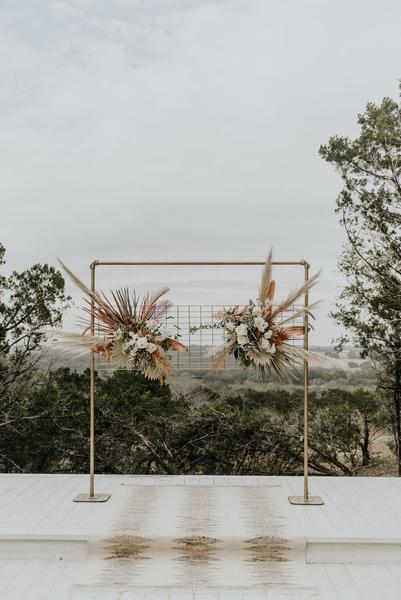 Floral Grid Event Backdrop