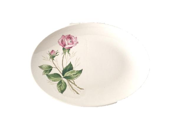 Pink Floral Platter