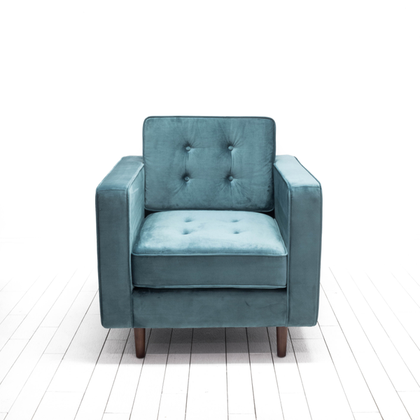 Alfred Chairs - Steel Blue
