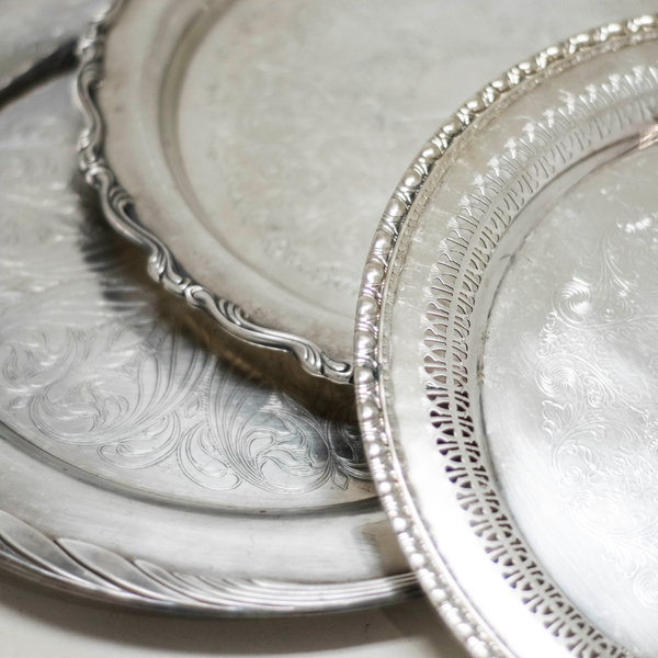 Assorted Silver Trays