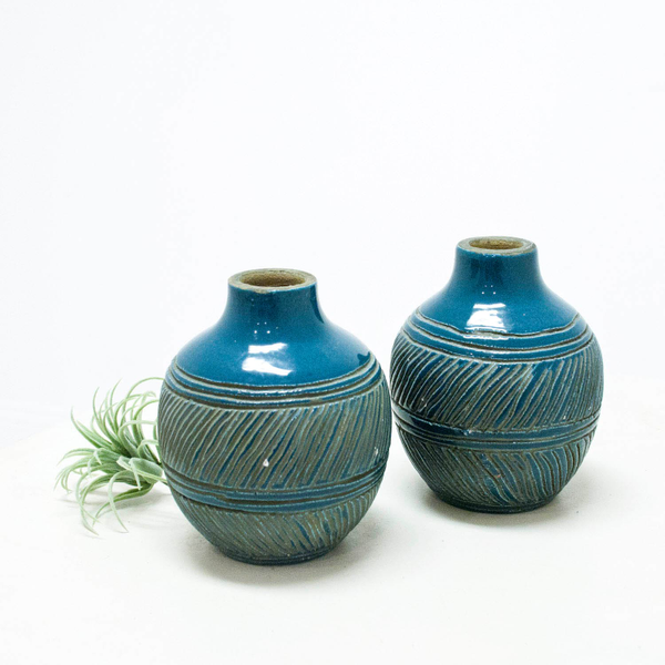 Blue Ceramic Vessels
