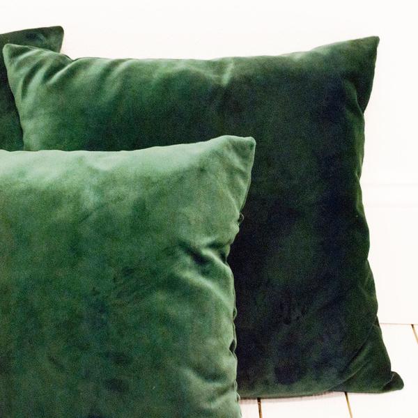 Hunter Velvet Pillows