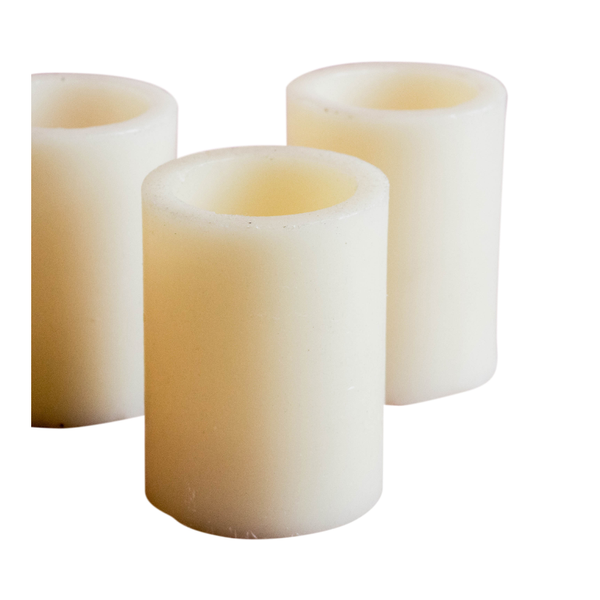 Faux Small Pillar Candles