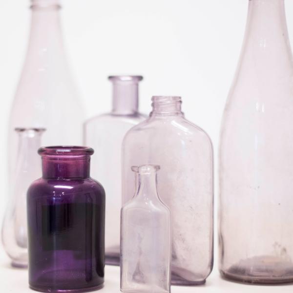 Assorted Purple Glass