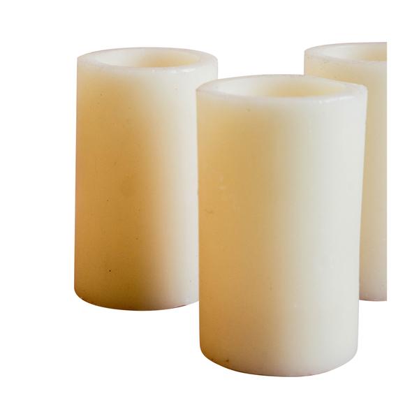 Faux Medium Pillar Candles