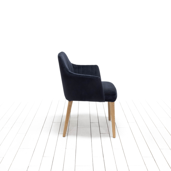 Cole Chairs - Midnight Blue