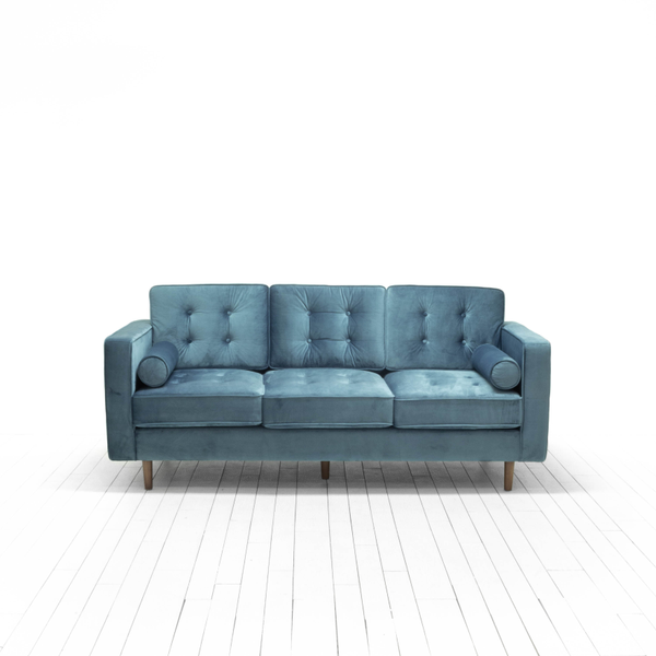 Billie Sofas - Steel Blue