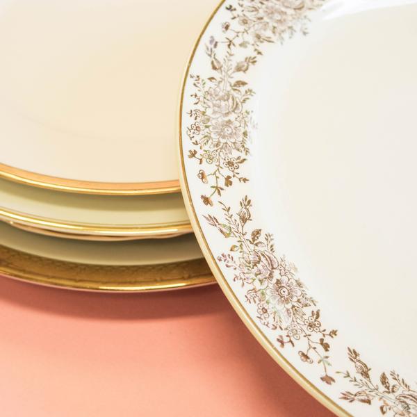 Gold Dinner Plates