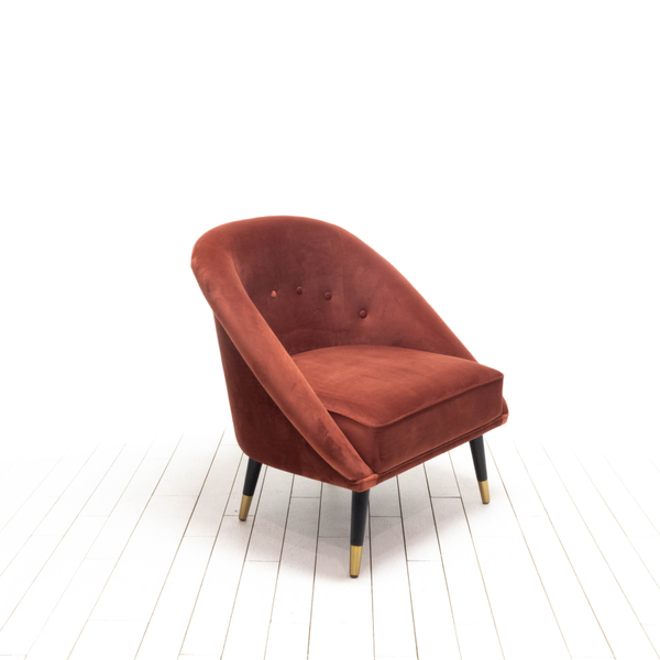 Loulou Chairs - Rust